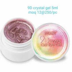 Nail Art 9D Crystal Cat Eye Gel Rosalind