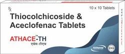 Athace-Th Thiocolchicoside and Aceclofenac Tablets, Athens Labs Ltd