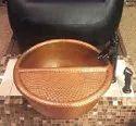 Copper Pedicure Bowl