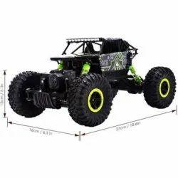Black Plastic Remote Control Rock Car Toy