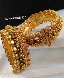 Wedding Golden Traditional Gold Plated Bangles