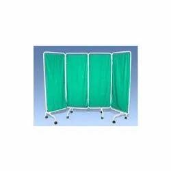 Bed Side Screen Mobile Folding Ward Screen