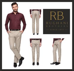 Rughani Brothers Office Wear,Formal Men''''S Formal Trouser