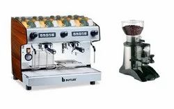 Semi Automatic Coffee Machine with Grinder