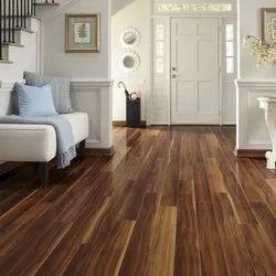 Laminate Wooden Flooring, For Indoor, Residential Building