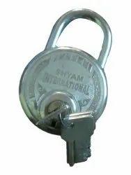Main Door Safety Silver Iron Padlock, Padlock Size: 50mm, SS Chrome