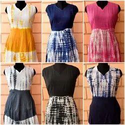 Festive Wear Multicolor SHIBORI LONG DRESS