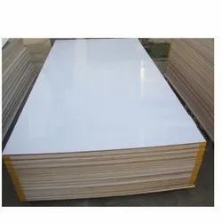 White HDPE Plastic Shuttering Plywood, Thickness: 12 Mm