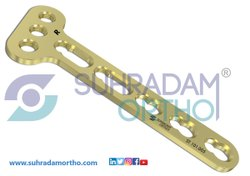 3.5mm LCP  T Oblique Locking Plate 3 Hole Head