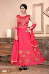 Multicolor Women Embroidery Salwar Suit By Parvati Fabrics Ltd