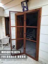Foldable Door Mosquito Net