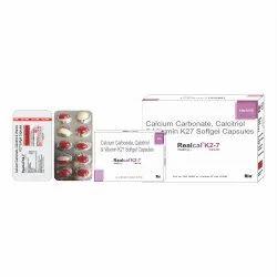 Calcium Carbonate 625, Calcitriol .25 mcg, Vitamin K27 45mcg