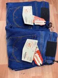 Denim Plain Men Jeans Blue, Waist Size: 32
