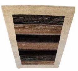 Brown Rectangular PVC Flooring Carpet, Size: 5x3feet