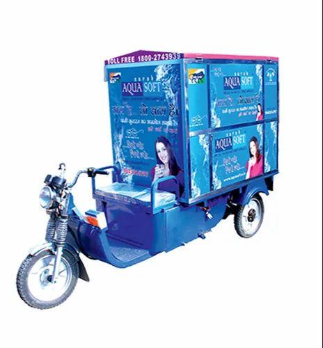 E-Rikshaw Water Vending Machine