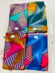 Cotton Printed Rayon fabric