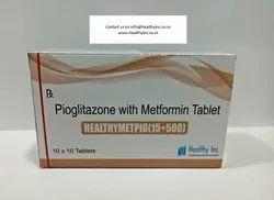 Pioglitazone 15 Mg Metformin 500 Mg Tablets