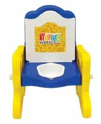 Blue Front Baby Potty Chair