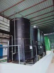 HDPE Spiral Chemical Storage Tank