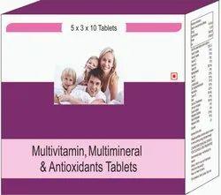 Multivitamin, Multimineral & Antioxidants Tablets