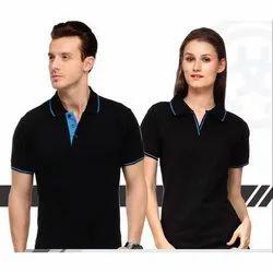 Plain Lycra cotton Sports Polo T Shirts