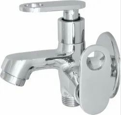 Sliver Classic Vintage 2in1 Bib Cock, For Bathroom Fittings, Size: 20 Mm