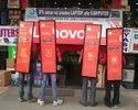 Red Look Walker, For Outdoor Advertising