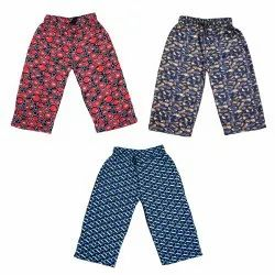 18 Months - 14 Yrs Cotton Bunny Printed Capri, Size: Multiple-Sizes