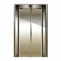 White Iron Steel Doors, For Commercial, Double Door