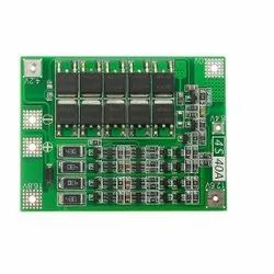 4 Series 40A 18650 Lithium Battery Protection Board 14.8V 16.8V with Balance for Drill Motor