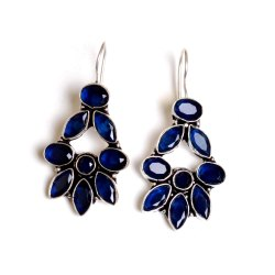 Sapphire Gemstone Designer Earrings