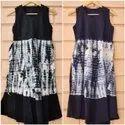 SHIBORI SHORT DRESS