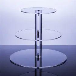 Acrylic Round Rack