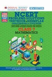 Oswaal NCERT Textbook+ Exemplar Mathematics Class 7 (For 2022 Exam)