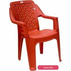 Plastic Orange Chair