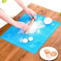 Non Stick Reusable Silicon Roti Chapati Rolling Baking Sheet Mat