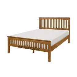 Solid Teak Wood Cot Bed