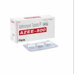 AZEE-500 Azythromycin Tablets IP 500 mg