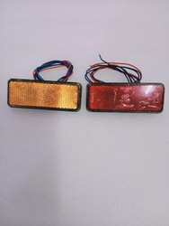 Hesham Led Source Waterproof Clearance Light, Lighting Color: red