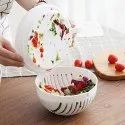 Care Of Multipurpose Salad Cutter Bowl Upgraded And Easy To Use Salad Maker