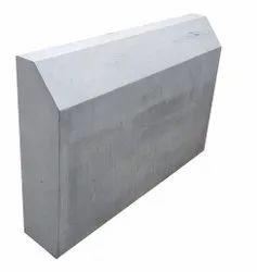 1ft Gray RCC Road Divider, 30kg