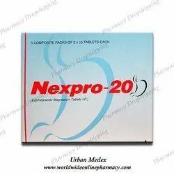 Nexpro 20mg Tablets
