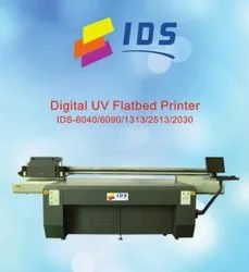 IDS UV 6040/ 6090 Flat Bed Printer For Glass, Wood