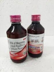 Milk Of Magnesia, Liquid Paraffin And Sodium Picosulfate Suspension