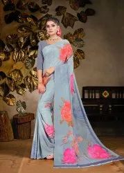 Printed Pure Silk Saree