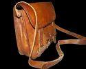 Vintage Leather Landscape Bag