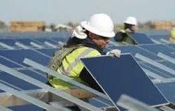 Solar Power Plant Installation