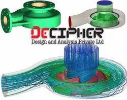 5 - 8 Days Offline CFD analysis of a Centrifugal Pump