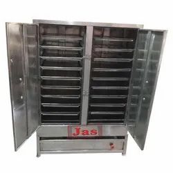 3 - 6 Kw Stainless Steel Electric Idli Steamer For Hotel, Capacity: 36 - 192 Per Batch