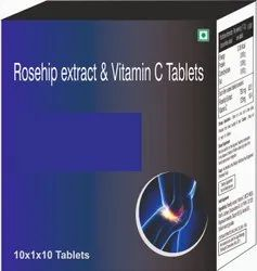 Rosehip Extract & Vitamin C Tablets
